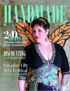 In the News - Handmade Business October 2015