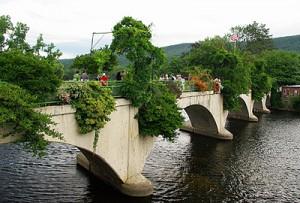 Bridge of Flowers in neighboring Shelburne Falls