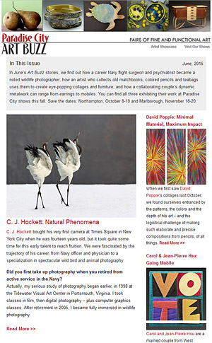 Art Buzz Newsletter June 2016