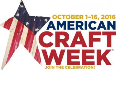 American Craft Week - October 2016