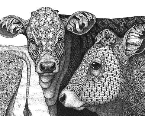 Kristin Moger Works on Paper